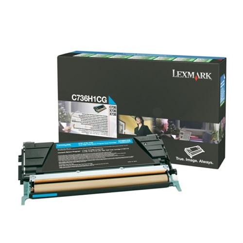 Lexmark C736H1CG Toner cyan, 10K pages