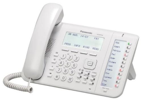 Panasonic KX-NT556X IP phone White Wired handset LCD