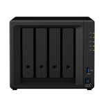 Synology DiskStation DS418 data-opslag-server Ethernet LAN Mini Toren Zwart NAS