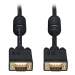 Tripp Lite P502-050 15.24m VGA (D-Sub) VGA (D-Sub) Black VGA cable