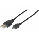 Hypertec 149692-HY USB cable 2 m 2.0 USB A Micro-USB B Black