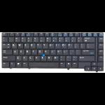 HP DN Point stick Compaq 6910p Danish Black keyboard