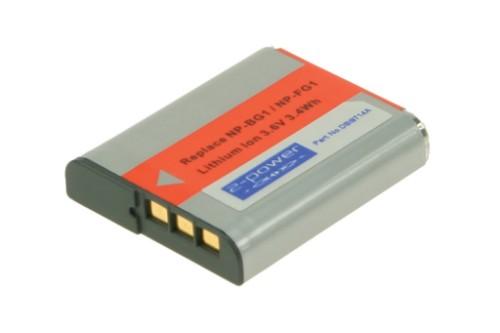 2-Power Digital Camera Battery 3.6V 940mAh