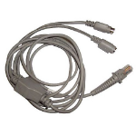 Datalogic CABLE-321 PS/2-kabel 2 m Grijs