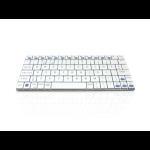 Accuratus Minimus Bluetooth QWERTY English White keyboard