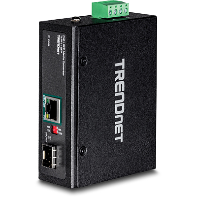 Trendnet TI-PF11SFP network media converter 2000 Mbit/s 0.56 nm Black