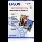 Epson Premium, DIN A3+, 250g/m² Fotopapier Weiß Halb-Glanz