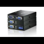 Aten VE170Q-AT-E AV extender AV transmitter & receiver Black