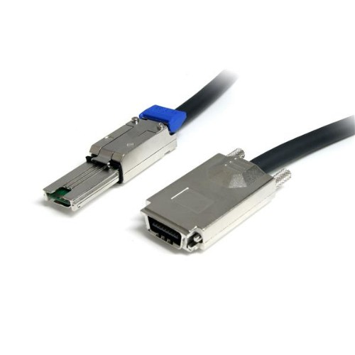 StarTech.com 1m External Serial Attached SCSI SAS Cable - SFF-8470 to SFF-8088