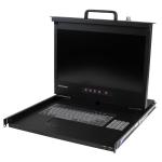 """StarTech.com RKCONS17HDGB rack console 43.2 cm (17"""") 1U"""