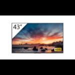 "Sony FWD-43X80H/T pantalla de señalización 108 cm (42.5"") IPS 4K Ultra HD Pantalla plana para señalización digital Negro Procesador incorporado Android 9.0"
