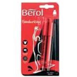 Berol HANDWRITING PK2 BLISTER CARDED BLK