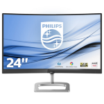 Philips E Line Curved LCD monitor with Ultra Wide-Color 248E9QHSB/00