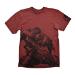 GEARS OF WAR 4 Men's Fenix T-Shirt, Large, Dark Red (GE6043L)