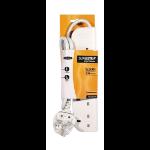 Belkin E-Series 4 Socket, 1-Metre SurgeStrip 4 AC outlet(s) 230 V White 1 m