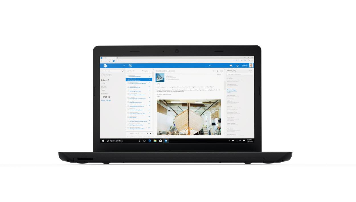 "Lenovo ThinkPad E570 2.70GHz i7-7500U 15.6"" 1920 x 1080pixels Black,Silver Notebook"