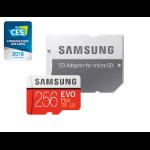 Samsung EVO Plus microSD Card 256GB memory card MicroSDXC Class 10 UHS-I