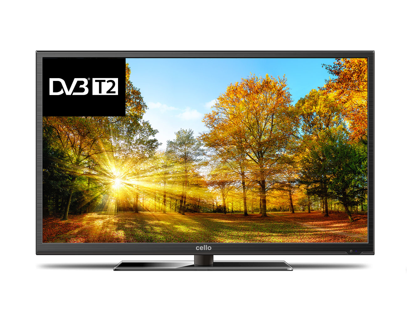 "Cello C40227DVBT2 40"" Full HD Black LED TV"