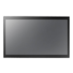 "AG Neovo TX-32P 32"" 1920 x 1080pixels Multi-touch Multi-user Black touch screen monitor"