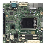 Supermicro X10SLV-Q Intel Q87 Socket H3 (LGA 1150) Mini ITX motherboard