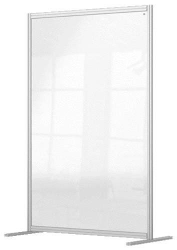 Nobo 1915515 magnetic board Grey, Transparent