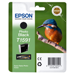 Epson C13T15914010 (T1591) Ink cartridge black, 17ml