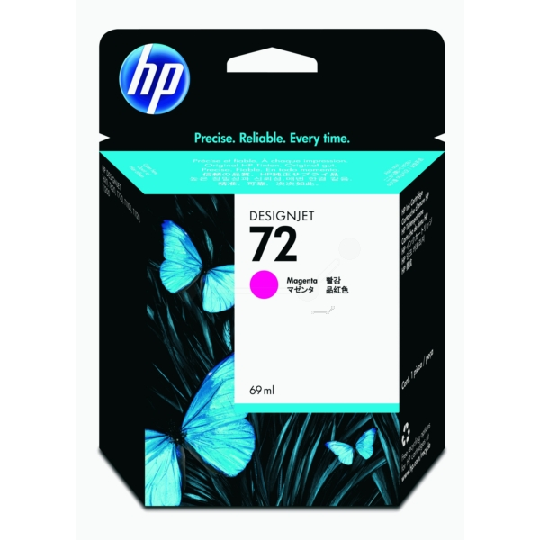 HP C9399A (72) Ink cartridge magenta, 69ml