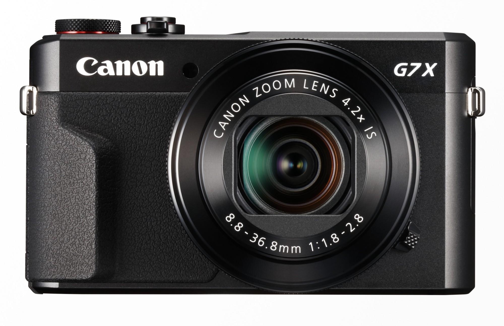 "Canon PowerShot G7X Mark II Compact camera 20.1 MP 1"" CMOS 5472 x 3648 pixels Black"