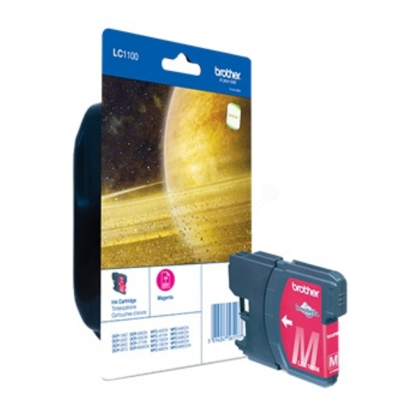 Brother LC-1100M Ink cartridge magenta, 325 pages, 6ml