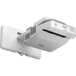 Epson PowerLite 685W data projector Wall-mounted projector 3500 ANSI lumens 3LCD WXGA (1280x800) Gray, White