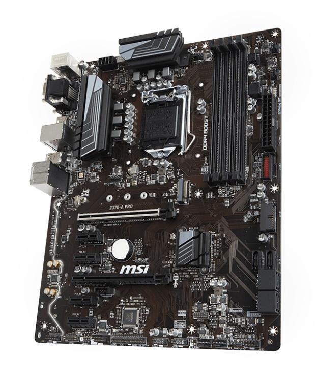 MSI Z370-A PRO motherboard LGA 1151 (Socket H4) ATX
