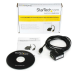 StarTech.com 1 Port FTDI USB to Serial RS232 Adapter Cable with Optical Isolation ICUSB2321FIS