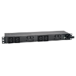 Tripp Lite 7.4kW Single-Phase 230V Basic PDU, 4 C19 Outlets, IEC 309 32A Blue Input, 3.6 m Cord, 1U Rack-Mount