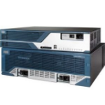 Cisco 3845, Refurbished wired router Blue, Stainless steel