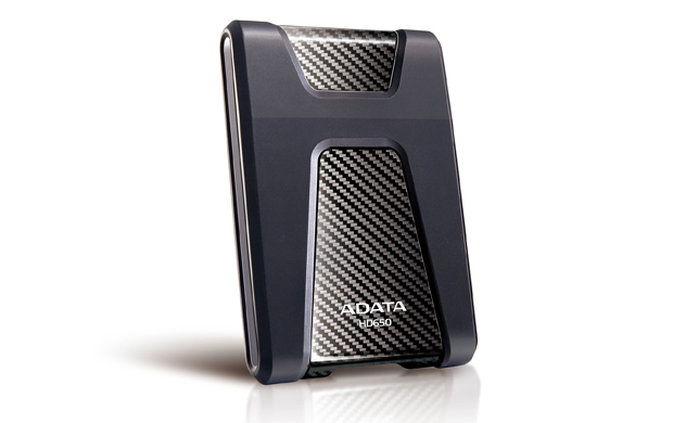 ADATA DashDrive Durable HD650 1000GB Black external hard drive