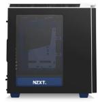 NZXT CA-H442W-EN Midi-Tower Black,Blue computer case