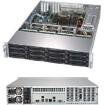 Supermicro SuperStorage Server 5029P-E1CTR12L Intel C622 LGA 3647 Rack (2U) Black