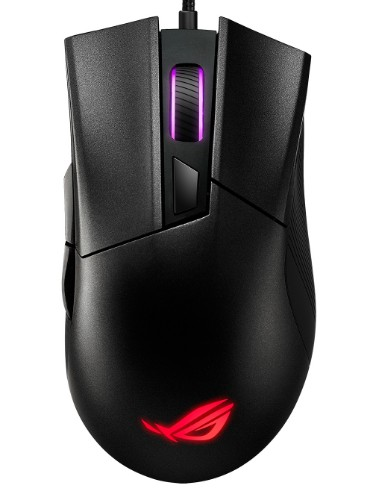 ASUS ROG Gladius II Core mouse USB Optical 6200 DPI Right-hand