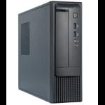Chieftec FN-03B Mini-Tower 350W Black,Silver computer case