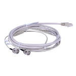 "Hewlett Packard Enterprise E1 RJ-45/2 x BNC 3m coaxial cable 118.1"" (3 m) Grey"