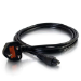 C2G 1m UK Laptop Power Cord (BS 1363 to IEC 60320 C5)