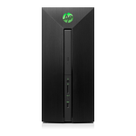 HP Pavilion Power 580-081na 3 GHz 7th gen Intel® Core™ i5 i5-7400 Black Mini Tower PC