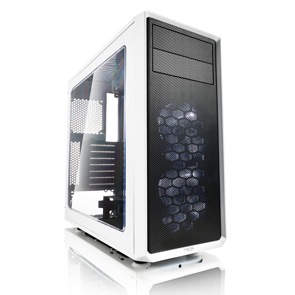 Fractal Design Focus G Midi-Tower White computer case