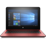 "HP ProBook x360 11 G2 EE Red Hybrid (2-in-1) 29.5 cm (11.6"") 1366 x 768 pixels Touchscreen 7th gen Intel® Core™ i5 i5-7Y54 8 GB LPDDR3-SDRAM 256 GB SSD"