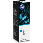 HP 31 70-ml Cyan Original Ink Bottle Origineel