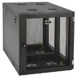 Tripp Lite SRW12UHD SmartRack 12U Heavy-Duty Low-Profile Server-Depth Side-Mount Wall-Mount Small Rack Enclosure