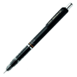 Zebra 0.5 mm Delguard Mechanical Pencil Black PK1