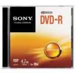 Sony 16x DVD-R 4.7GB 4.7GB DVD-R 1pc(s)