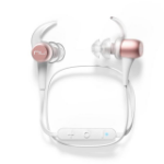 Optoma BE Sport3 In-ear Binaural Wireless Pink gold,White mobile headset