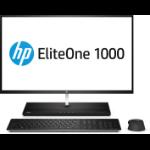 """HP EliteOne 1000 G2 68.6 cm (27"""") 3840 x 2160 pixels 8th gen Intel® Core™ i5 8 GB DDR4-SDRAM 256 GB SSD Wi-Fi 5 (802.11ac) Black All-in-One PC Windows 10 Pro"""